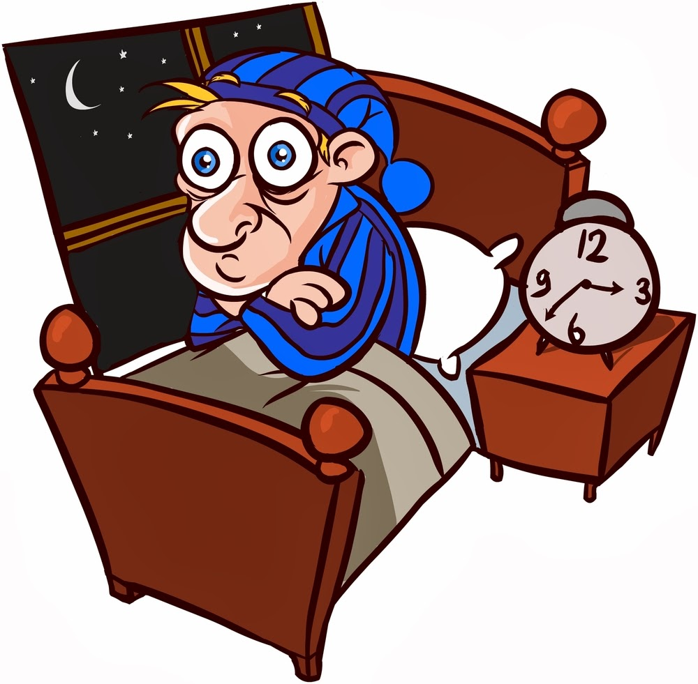 Gambar Ilustrasi Orang Tidur